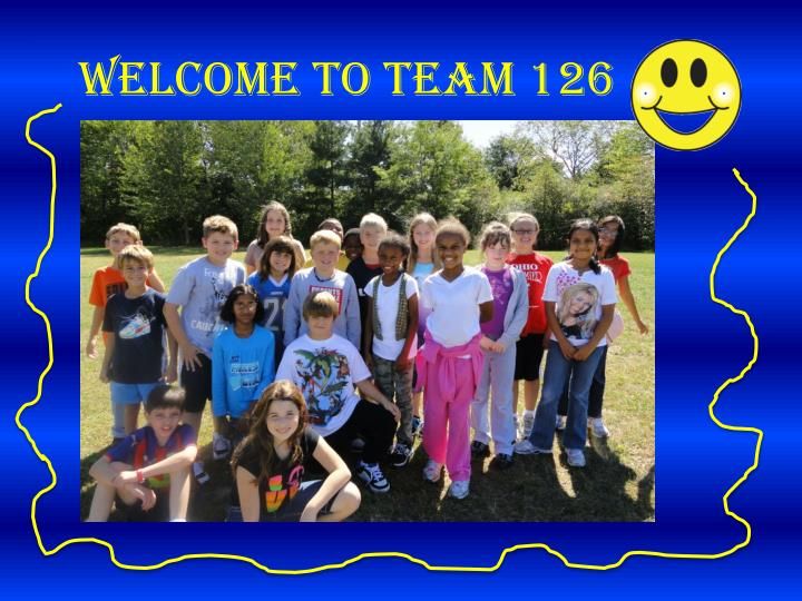welcome to team 126 n.