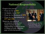 national responsibility