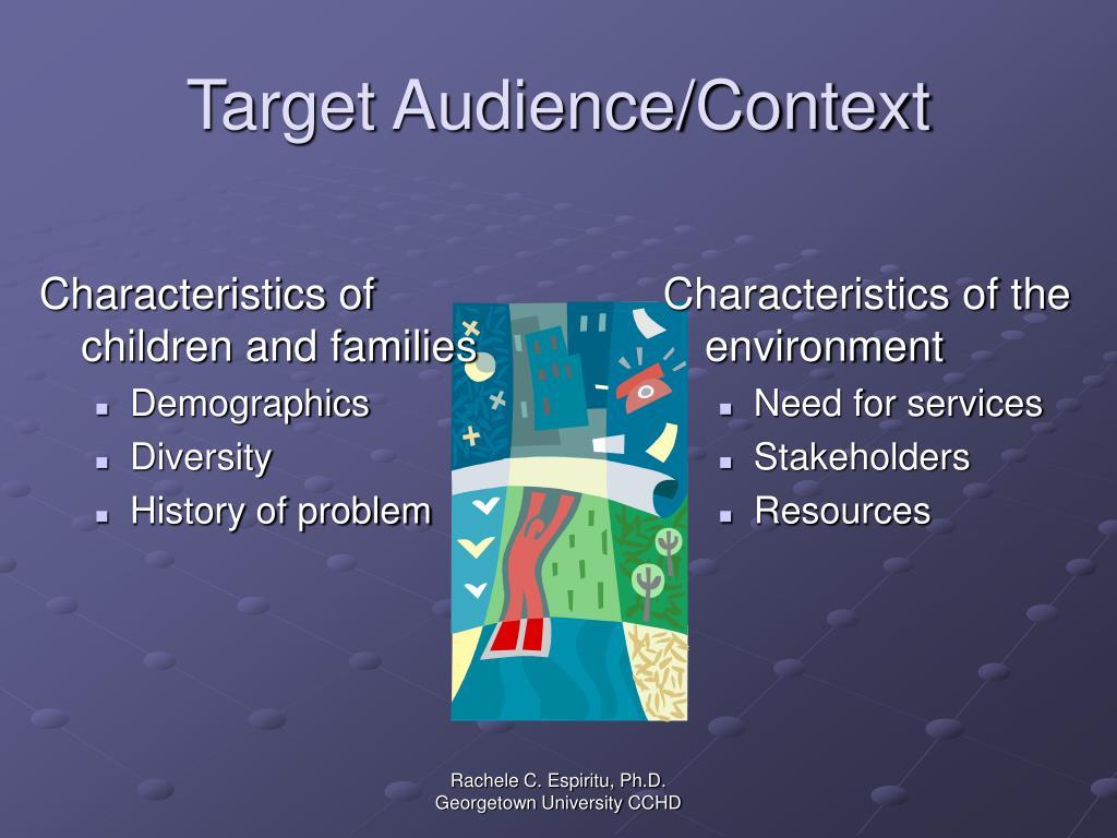 Target Audience/Context