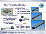 adept python linear modules