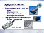 adept python linear modules11