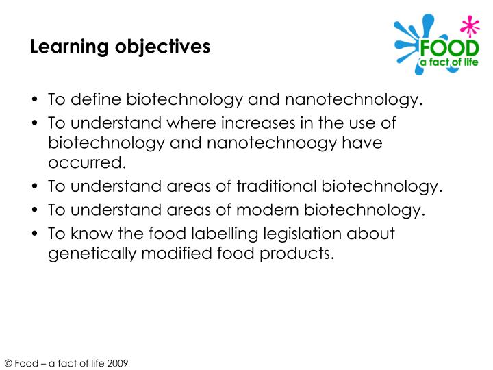 the use of biotechnology in creating new food products Start studying biotechnology development and research pathways and of tests and experiments on food products  systems to create new products.