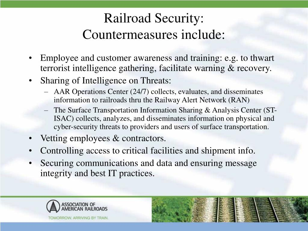 Railroad Security: