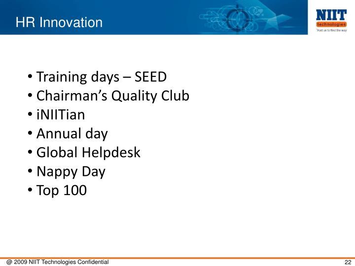 HR Innovation