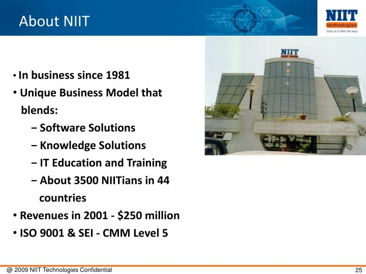 About NIIT