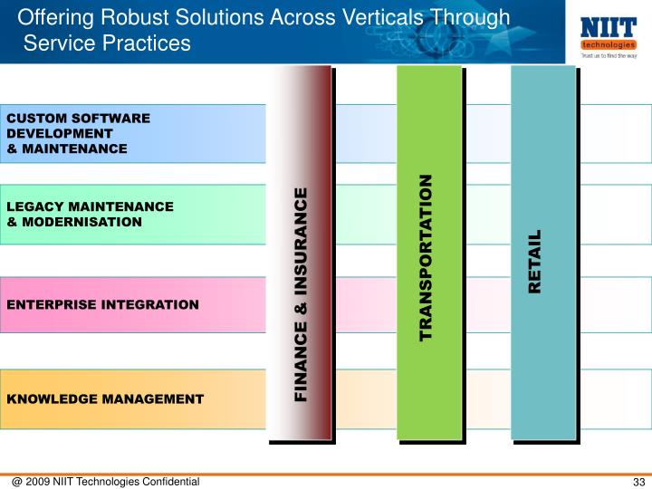 Offering Robust Solutions Across Verticals Through