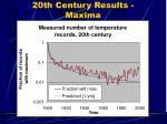 20th century results maxima64