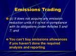 emissions trading46