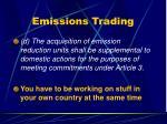 emissions trading47