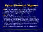 kyoto protocol signers51