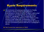 kyoto requirements37