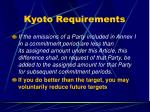 kyoto requirements40
