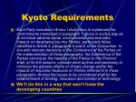 kyoto requirements41