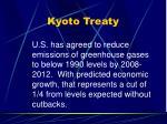 kyoto treaty