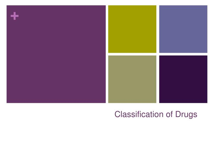 classification of drugs n.
