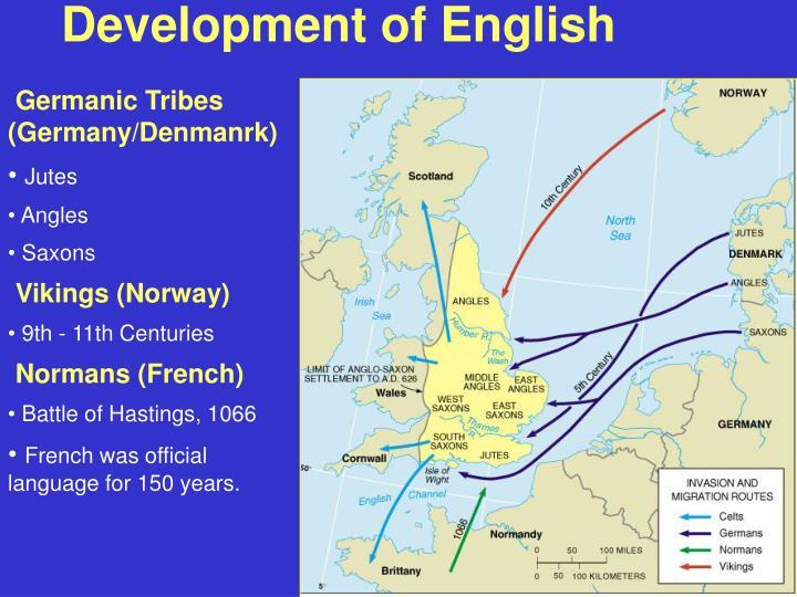 Development of English