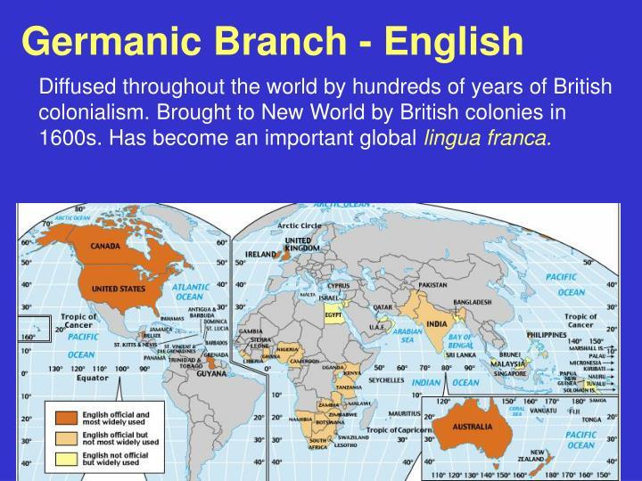 Germanic Branch - English