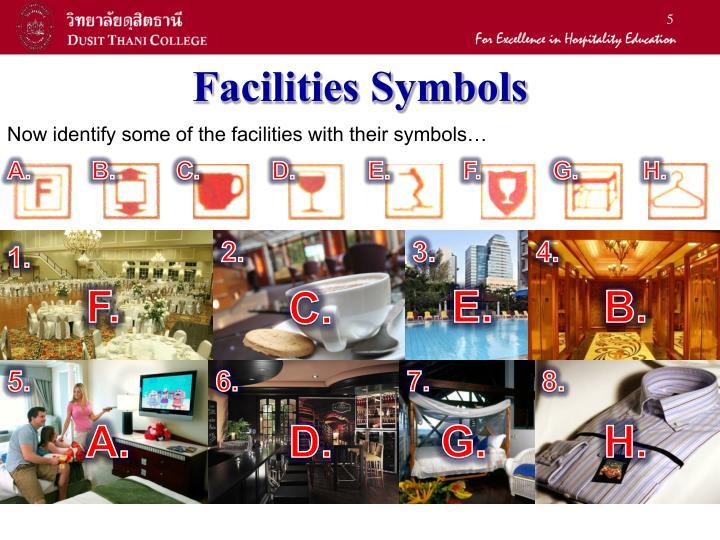 Facilities Symbols