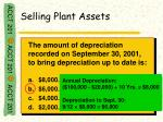 selling plant assets9