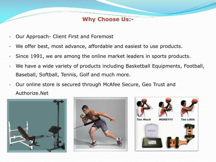 Why Choose Us:-