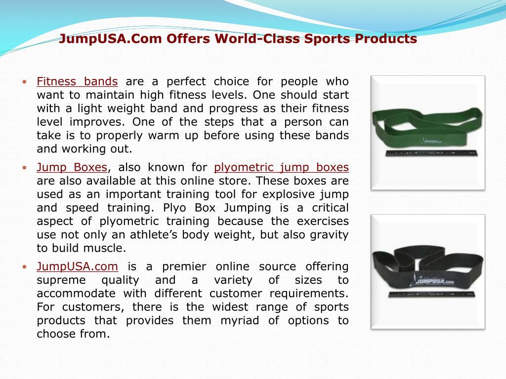 JumpUSA.Com Offers World-Class Sports Products