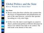 global politics and the state biswas w h ither the nation state2