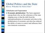 global politics and the state biswas w h ither the nation state20