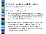 global politics and the state biswas w h ither the nation state28