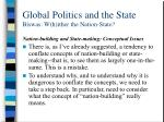 global politics and the state biswas w h ither the nation state5