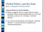 global politics and the state biswas w h ither the nation state6