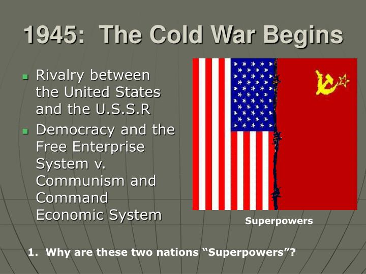 PPT - 1945: The Cold War Begins PowerPoint Presentation - ID
