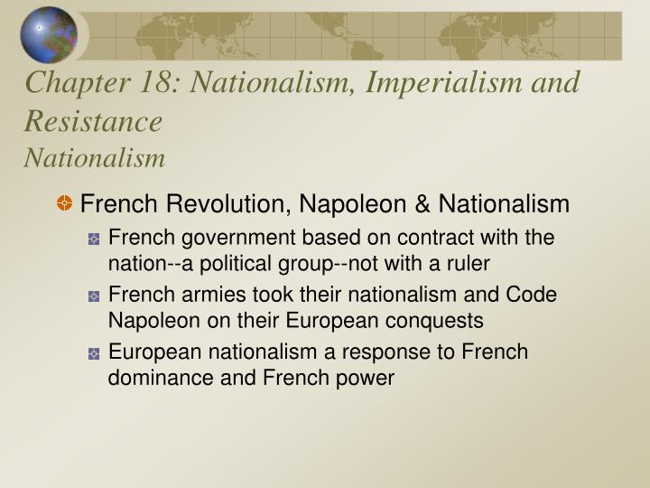 chapter 18 nationalism imperialism and resistance nationalism n.