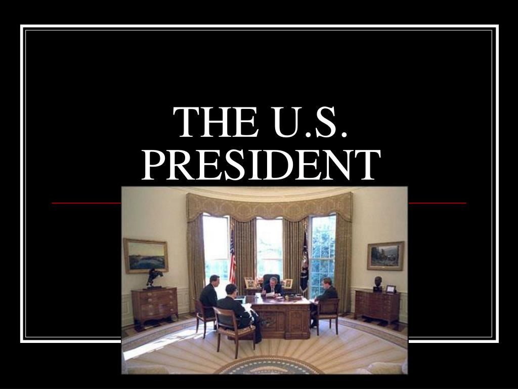 the u s president l.