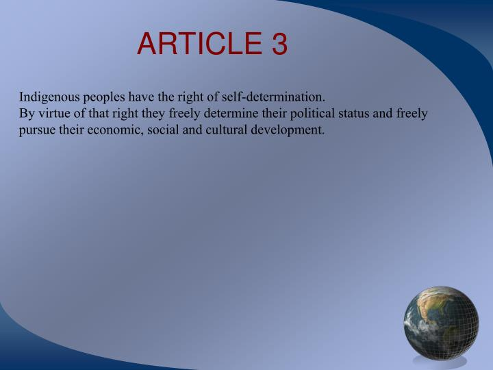 ARTICLE 3