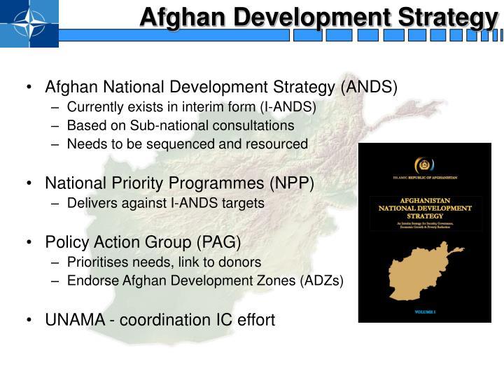 Afghan Development Strategy