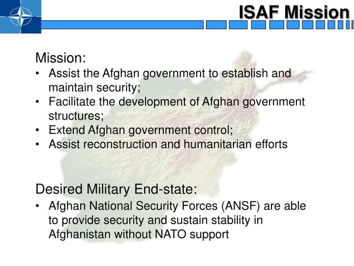 ISAF Mission