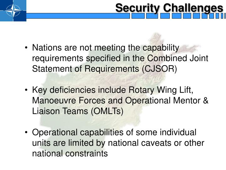 Security Challenges