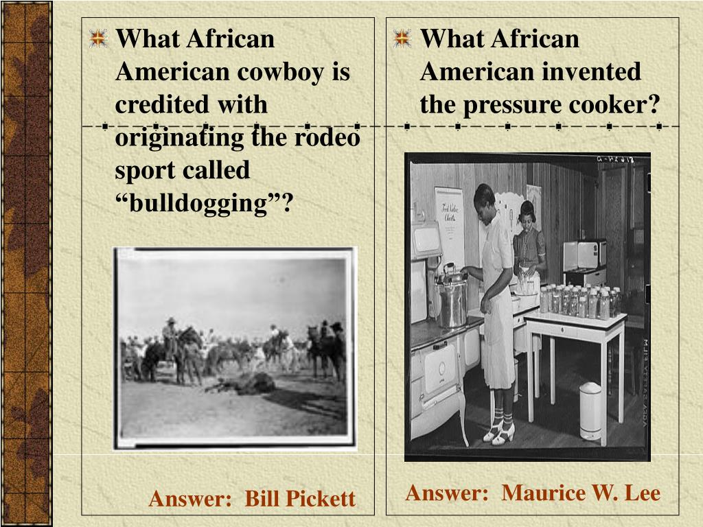 """What African American cowboy is credited with originating the rodeo sport called """"bulldogging""""?"""