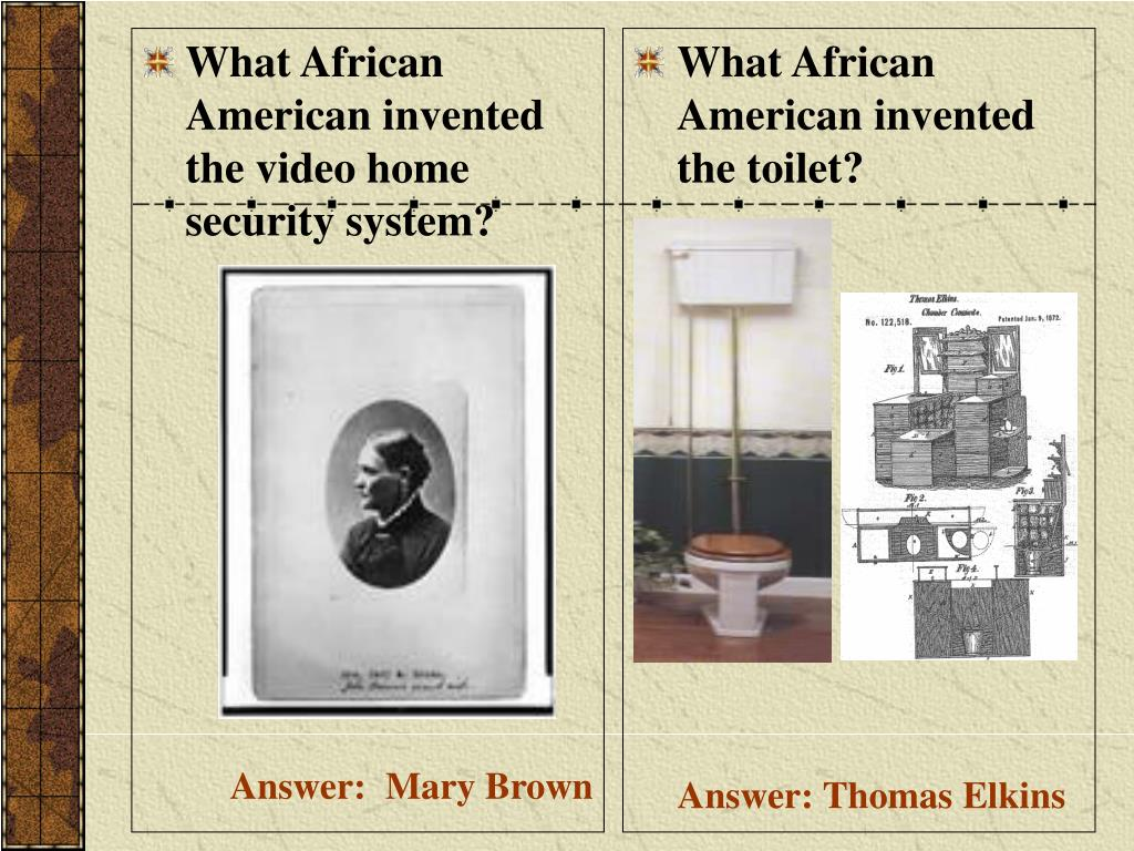 What African American invented the video home security system?