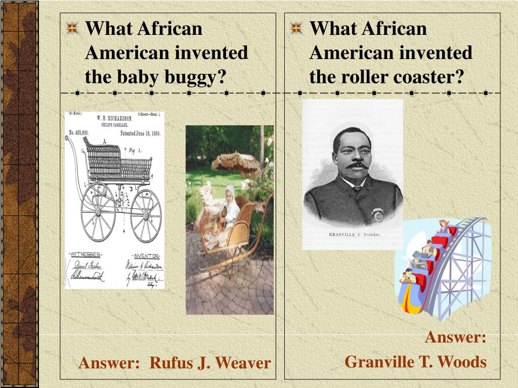 What African American invented the baby buggy?