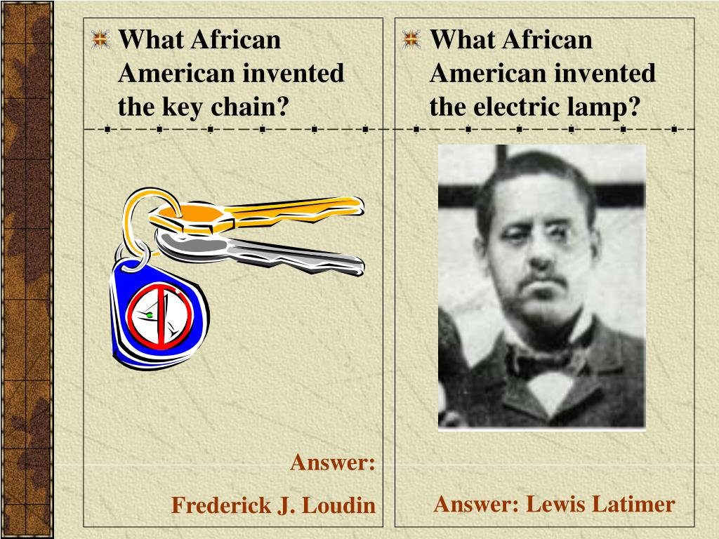 What African American invented the key chain?