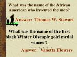 what was the name of the african american who invented the mop