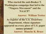 who started the anti booker t washington campaign that led to the niagara movement and the naacp