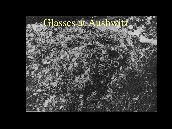 Glasses at Aushwitz