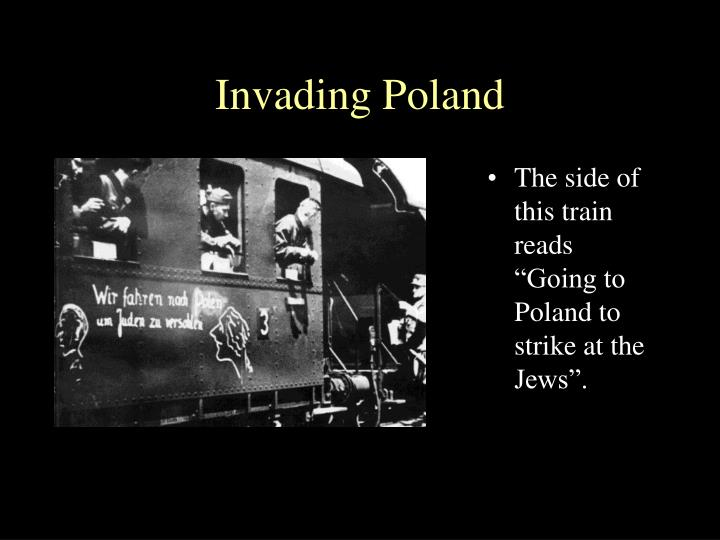 Invading Poland
