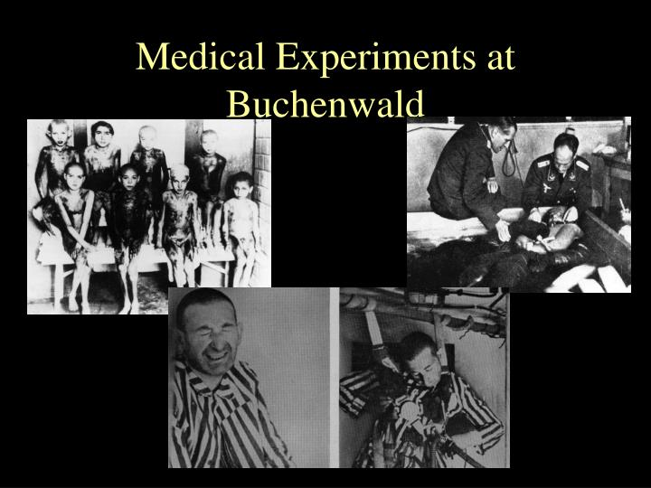 Medical Experiments at Buchenwald