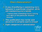 what is rationalization