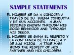 sample statements25
