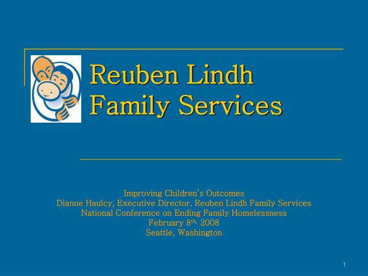 reuben lindh family services n.