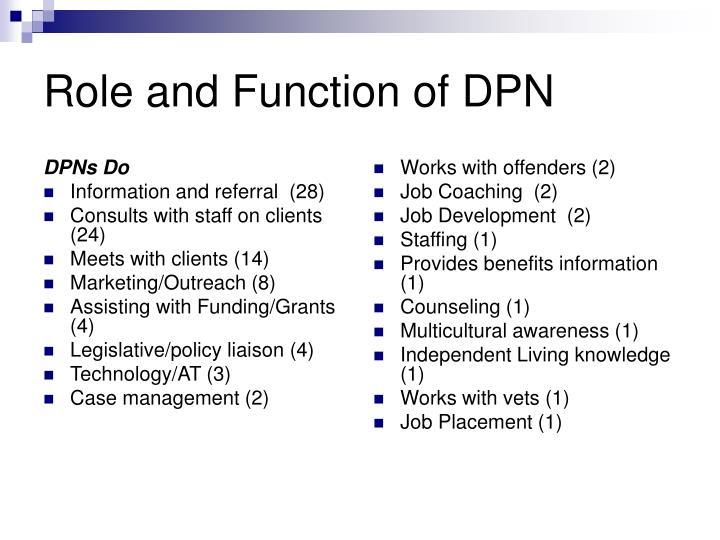 DPNs Do